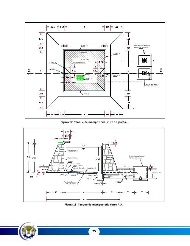Tanques de almacenamiento en concreto y mamposter a - Tipos de mamposteria de piedra ...