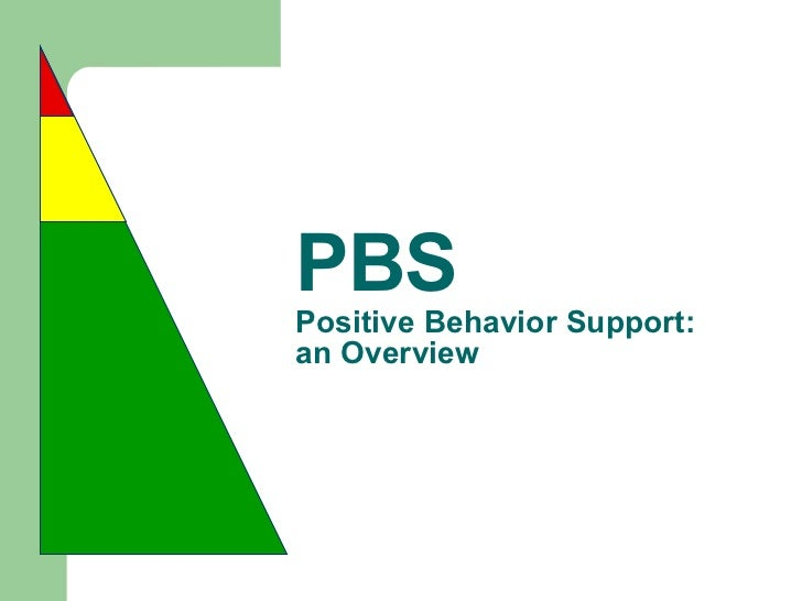 PBS Positive Behavior Support: an Overview