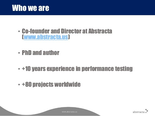 Qatest 2016 bilbao pros and cons of doing performance testing alon qatest 2016 bilbao pros and cons of doing performance testing along with development versus at the end of it fandeluxe Choice Image