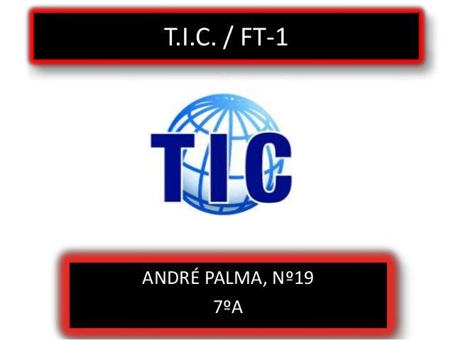 T.I.C. / FT-1 ANDRÉ PALMA, Nº19 7ºA
