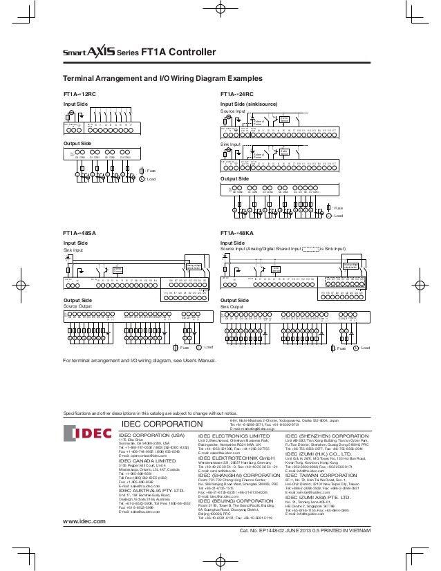 ft1 a idec 25 638?cb=1490080221 ft1 a idec idec relay wiring diagram at suagrazia.org