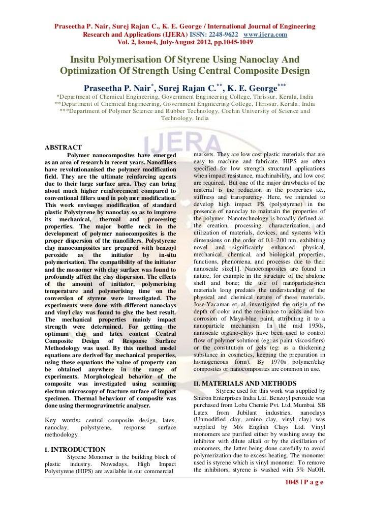 Praseetha P. Nair, Surej Rajan C., K. E. George / International Journal of Engineering           Research and Applications...