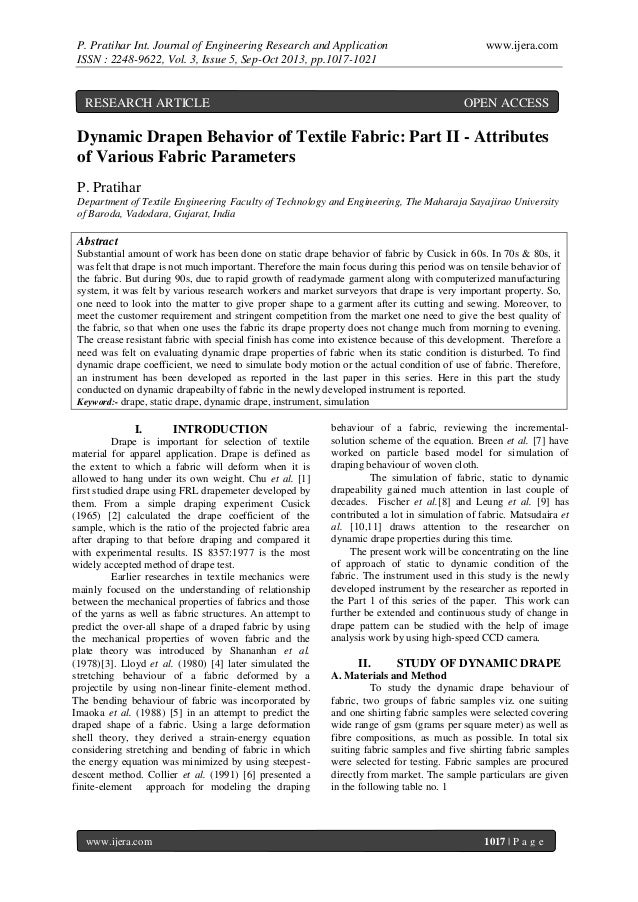 P. Pratihar Int. Journal of Engineering Research and Application ISSN : 2248-9622, Vol. 3, Issue 5, Sep-Oct 2013, pp.1017-...