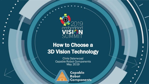 Copyright © 2019 Carnegie Robotics How to Choose a 3D Vision Technology Chris Osterwood Capable Robot Components May 2019