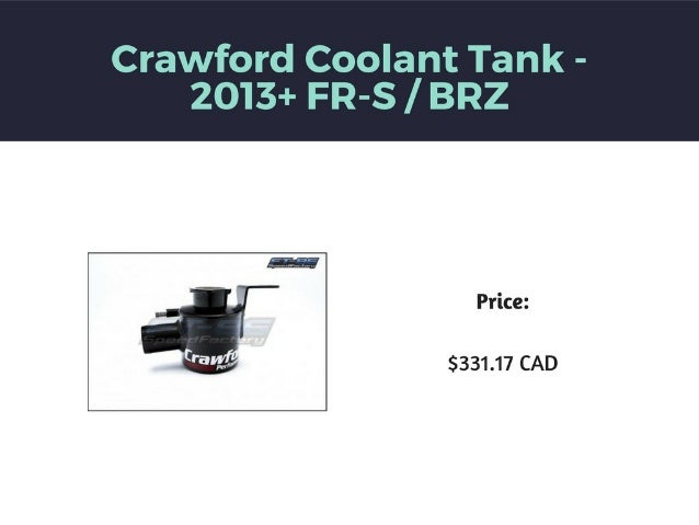 FT86MotorSports for OverFlow Tanks and Cooling Products Slide 3