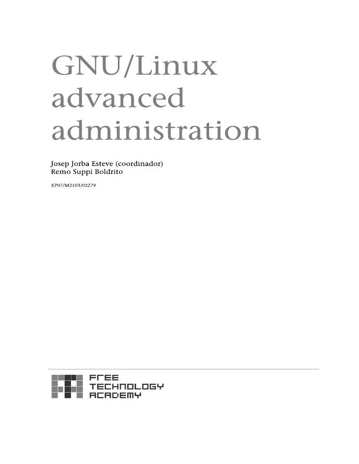Fta m2-admin gnulinux-v1 Slide 2