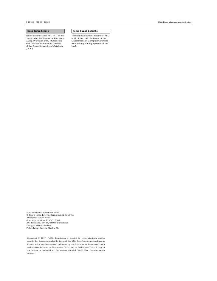 Fta m2-admin gnulinux-v1 Slide 3