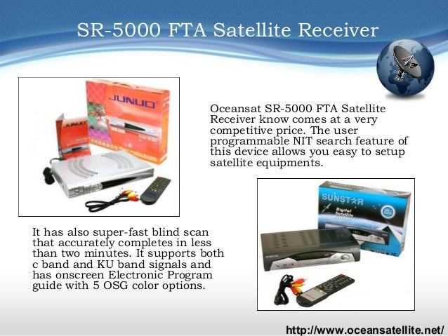 SR-5000 FTA Satellite Receiver and Supermax 4x1 DiSEqC Switch