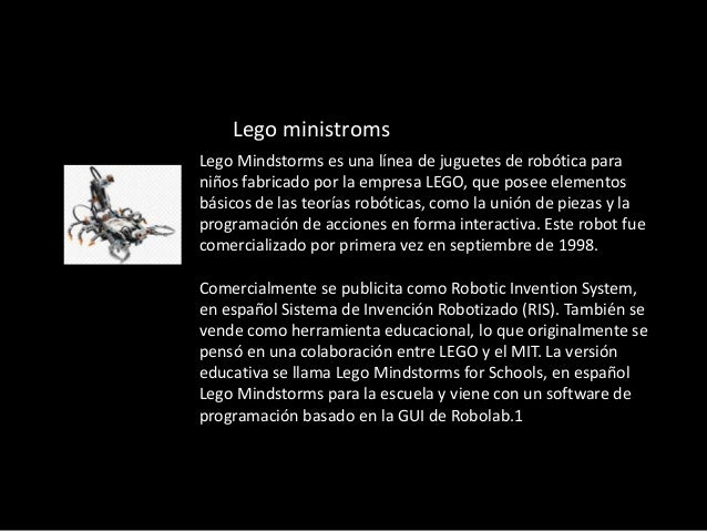 lego mindstrom  Slide 3