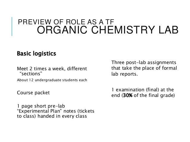 Fundamentals of Teaching Chemistry F18 Session I