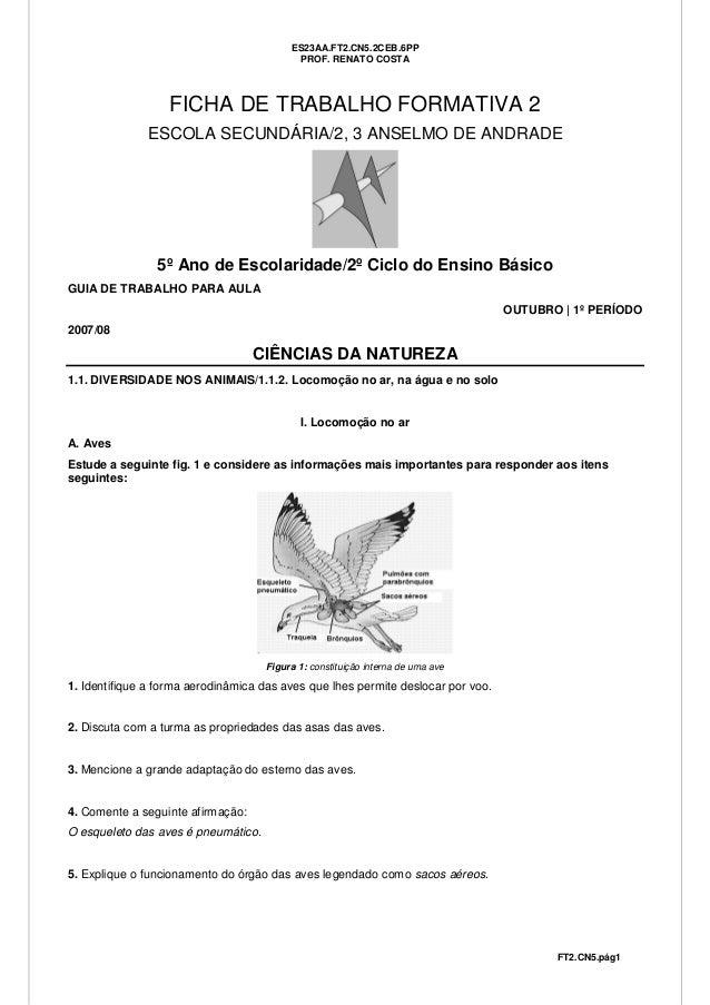 ES23AA.FT2.CN5.2CEB.6PP                                           PROF. RENATO COSTA                  FICHA DE TRABALHO FO...