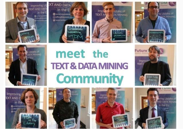 13 meet the TEXT&DATAMINING Community