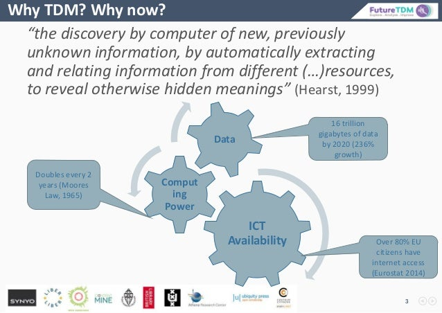 """""""the discovery by computer of new, previously unknown information, by automatically extracting and relating information fr..."""
