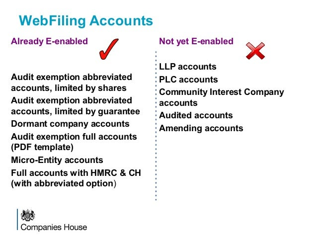 First Time Directors Presentation January 2015 – Audited Accounts Template