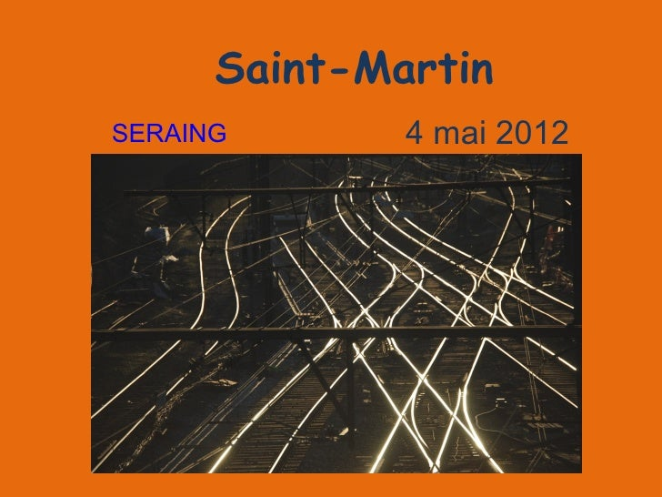 Saint-MartinSERAING       4 mai 2012