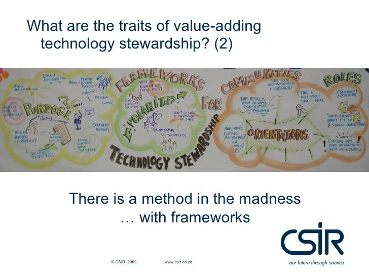 Discussion<br />What are the practical value and implications of technology stewardship for knowledge management initiativ...