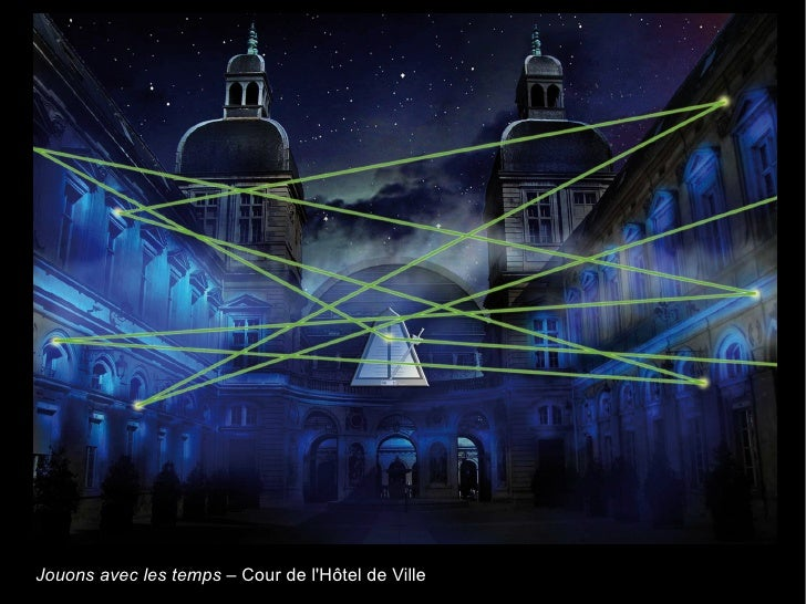 Jouons avec les temps  – Cour de l'Hôtel de Ville