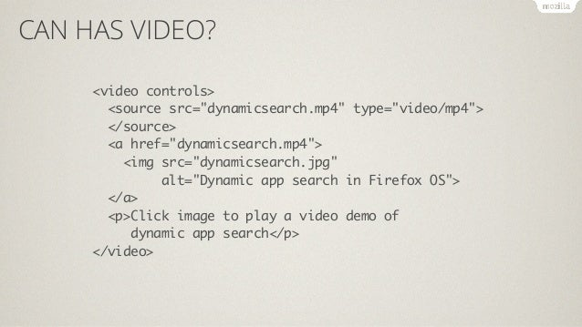 CAN HAS VIDEO?  var v = document.querySelector('video'),  sources = v.querySelectorAll('source'),  lastsource = sources[so...