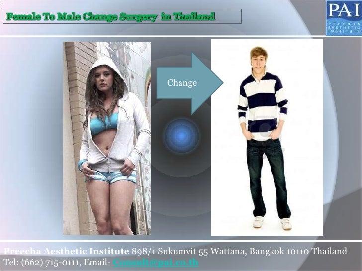 ChangePreecha Aesthetic Institute 898/1 Sukumvit 55 Wattana, Bangkok 10110 ThailandTel: (662) 715-0111, Email- Consult@pai...