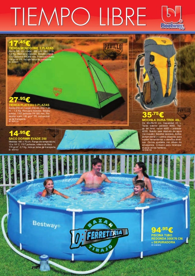 Oferta piscinas 2015 for Ofertas piscinas desmontables