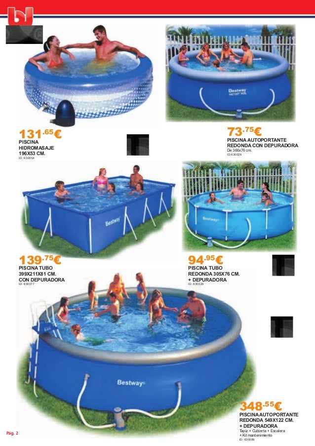 Oferta piscinas 2015 for Gresite piscina bricodepot