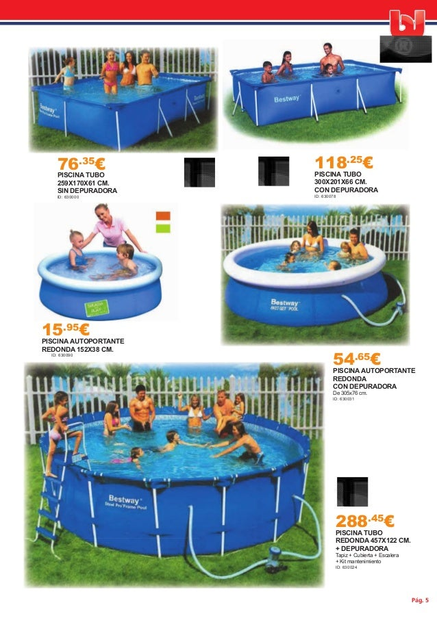 Oferta piscinas 2015 for Ofertas de piscinas