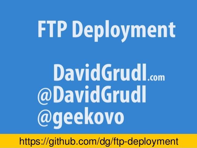 FTP deployment Devel 2015
