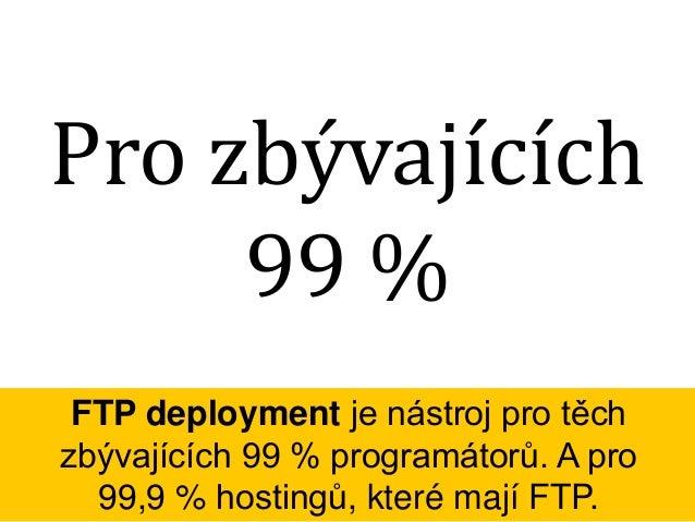 """Total Commander Deployment Vyvíjet přímo na serveru je špatné, stejně jako """"deployovat"""" pomocí Total Commanderu. Co je lep..."""