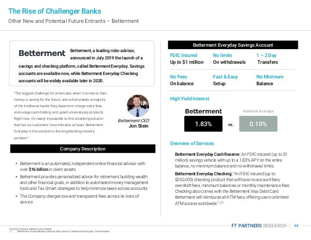 Ft partners research the rise of challenger banks