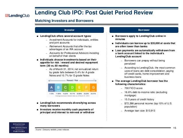 FT Partners Research: Lending Club IPO: Post Quiet Period Review