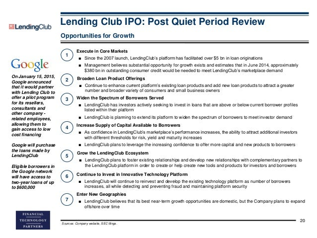 Invest in lending club ipo