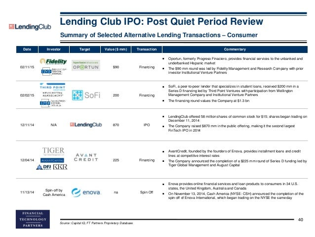 Quiet period after ipo 40 days