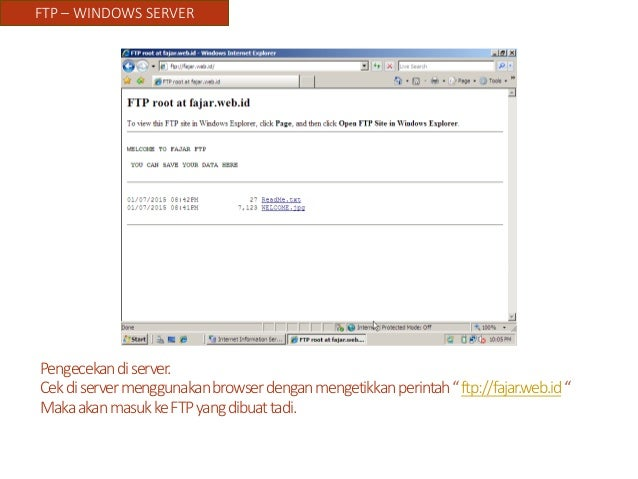 how to create ftp server in windows server 2008
