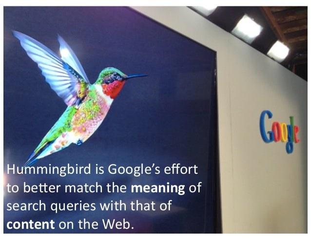 What Does Google Hummingbird Mean For Seo And Content Marketing