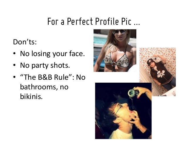 Good images for profile pic
