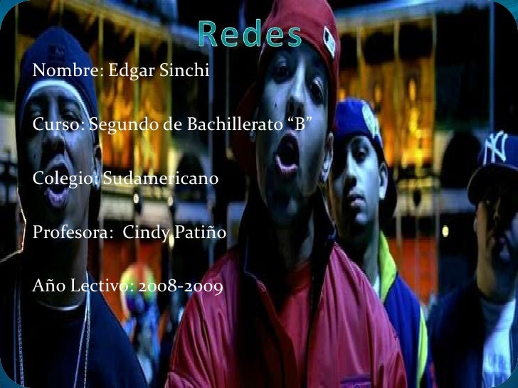 "Nombre: Edgar Sinchi  Curso: Segundo de Bachillerato ""B""  Colegio: Sudamericano  Profesora: Cindy Patiño  Año Lectivo: 200..."