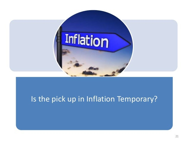 Is the pick up in Inflation Temporary? 21