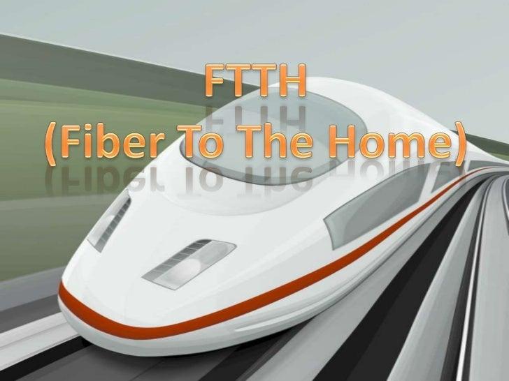 Consiste en la utilizaciónde cables ópticos parala distribución deservicios avanzados através de redes.