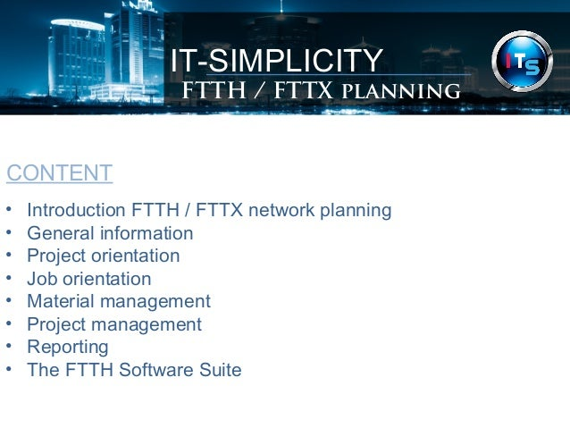 Ftth Network Planning Software