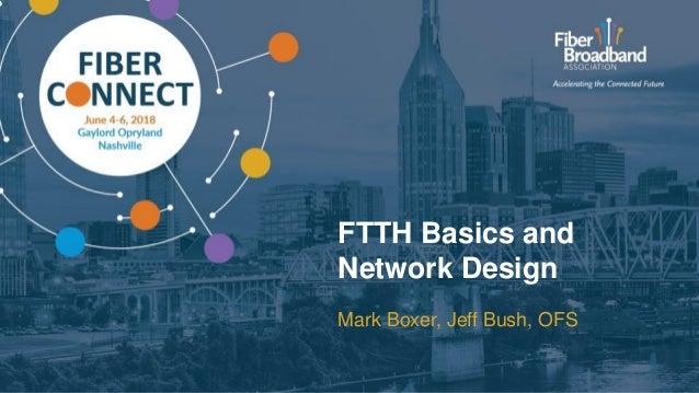 FTTH Basics and Network Design Mark Boxer, Jeff Bush, OFS