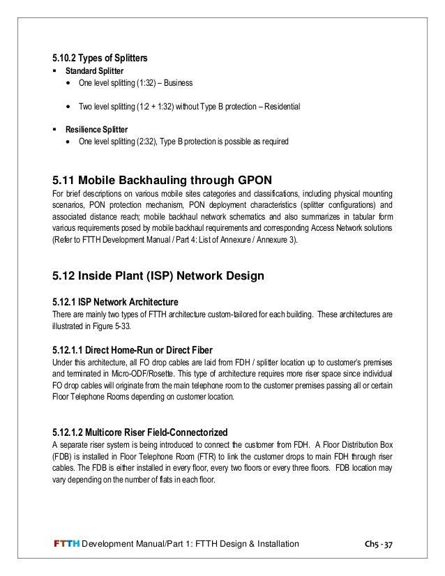Ftth development manual part1 (1)