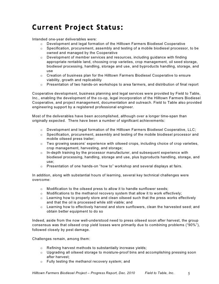 Biodiesel Business Plan: Developing an Action Plan