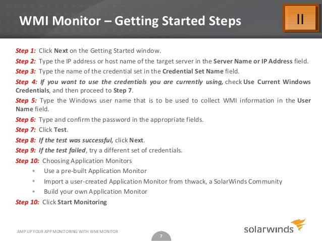 Amp Up Your App Monitoring with WMI Monitor