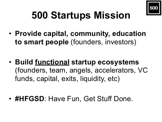 Startup Investment Stages • Concept