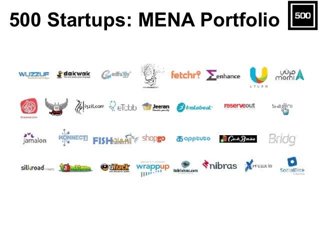 500 Startups: MENA Portfolio