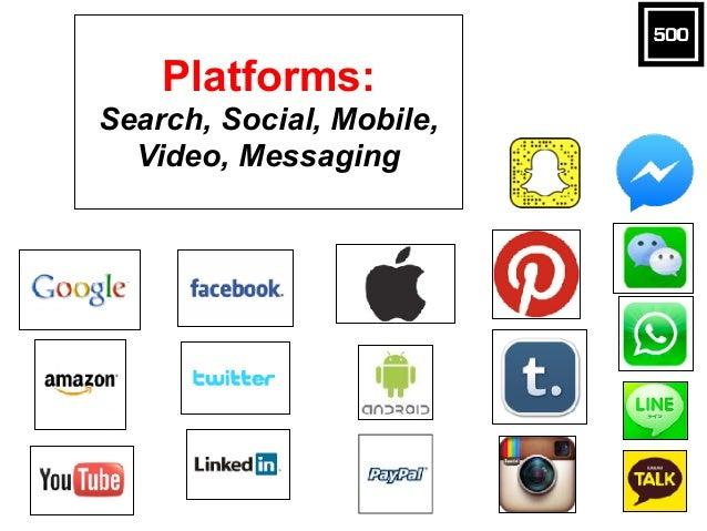 Platforms: Search, Social, Mobile, Video, Messaging