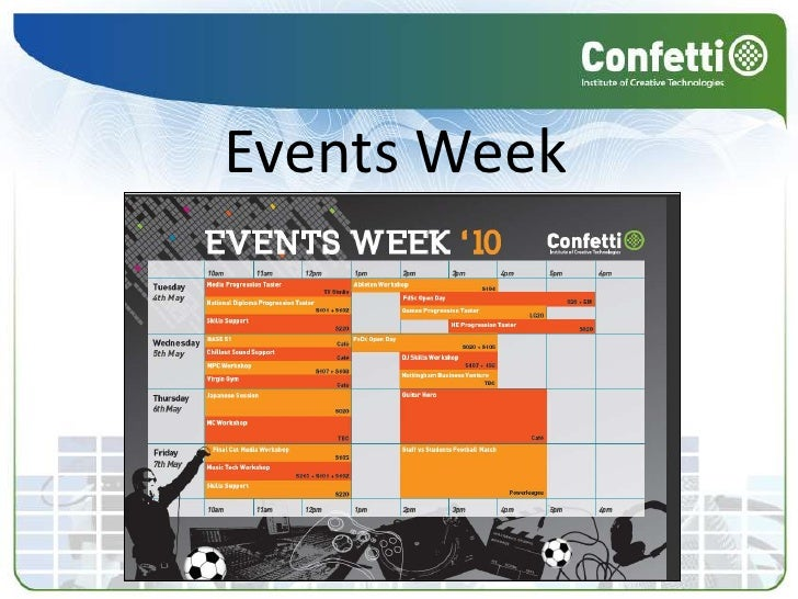 Events Week<br />