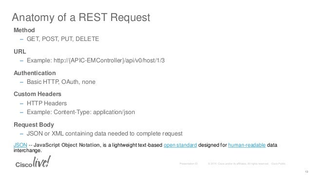 Devnet 1001 Coding 101 How To Call Rest Apis From A Rest Client And