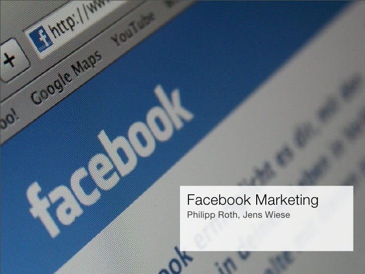 Facebook Marketing                 Philipp Roth, Jens Wiese   Facebook Marketing      Philipp Roth, Ray Sono AG