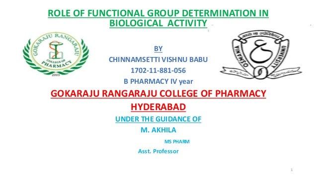 Biological determination
